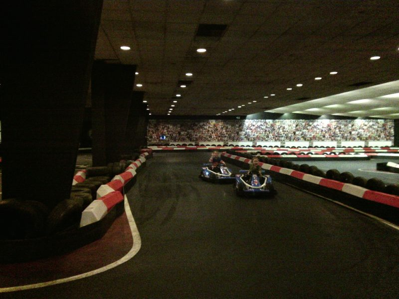 Go kart racing birthday party