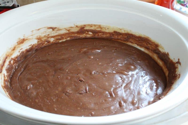 slow cooker chocolate fudge recipe