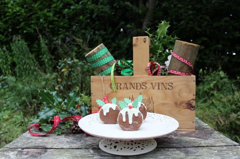 Christmas Pudding Slow cooker fudge