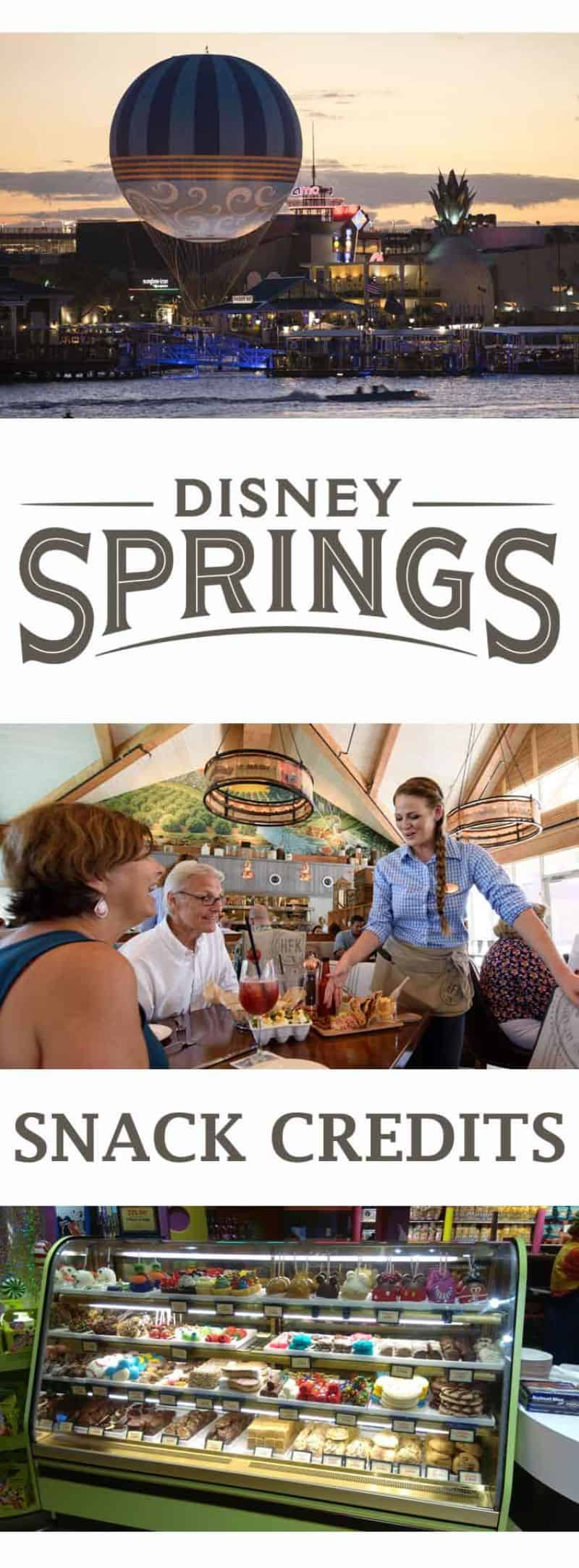 Best use of snack credits in Disney Springs