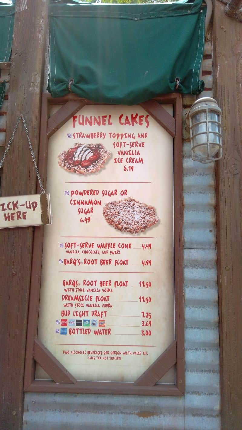 Best use of snack credits in Hollywood Studios