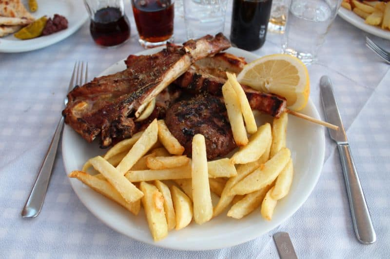 Pefko restaurants in Stoupa review