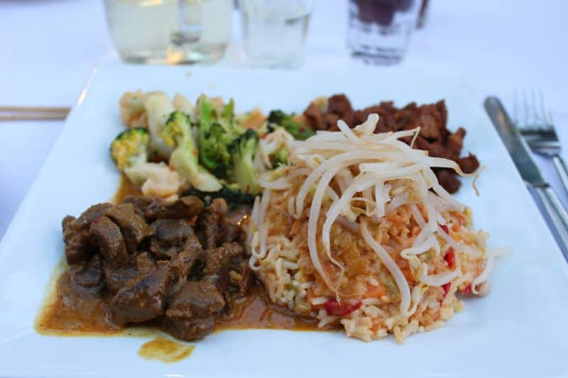 Melissa restaurant in stoupa review