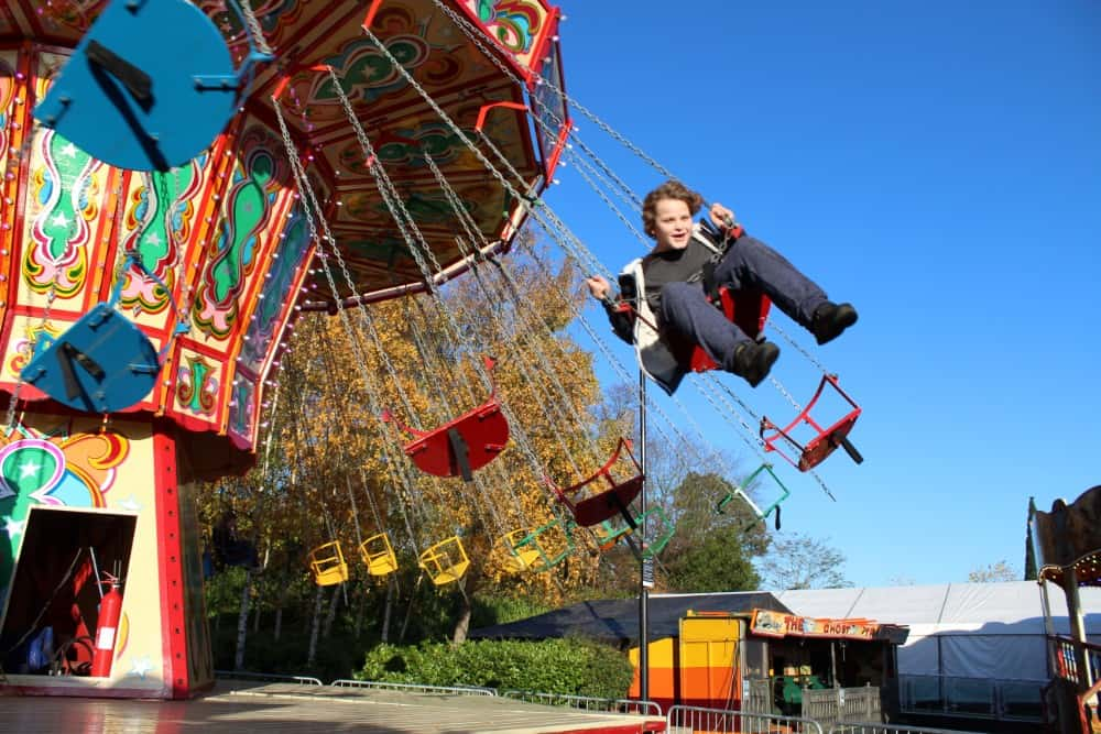 Vintage Funfair at Yorkshire's Winter Wonderland