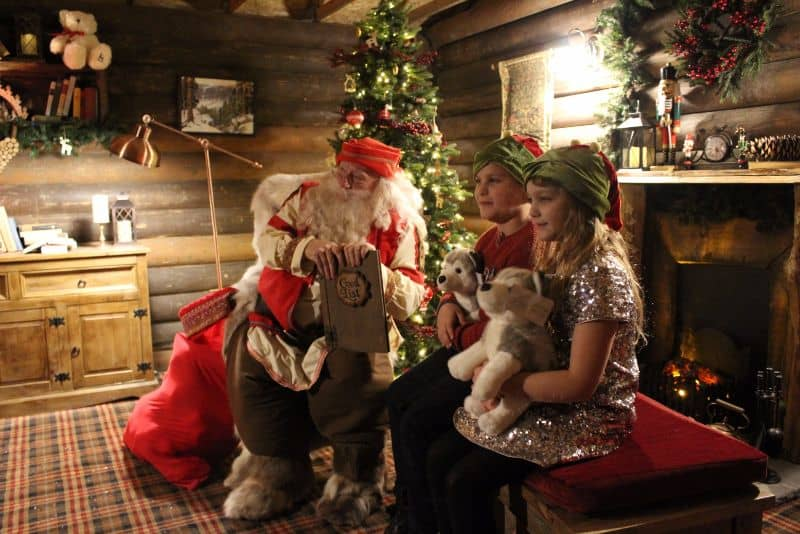 santa at lapland uk