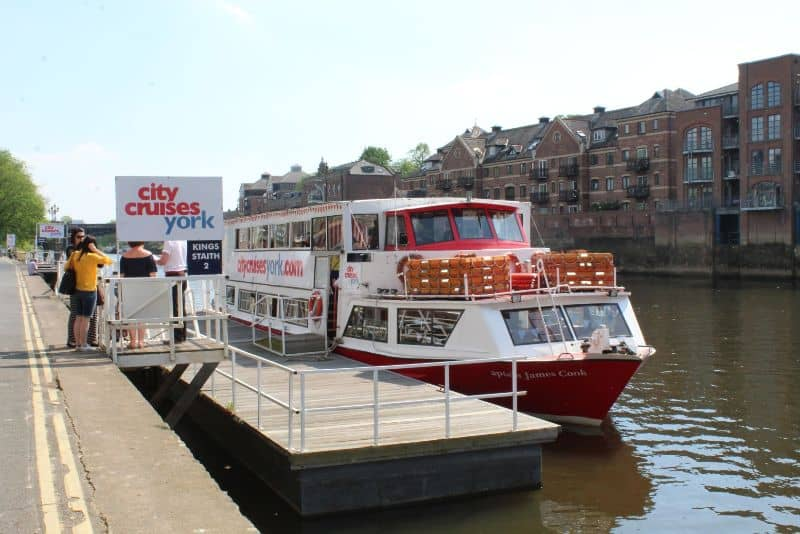 City Cruises York Afternoon Tea