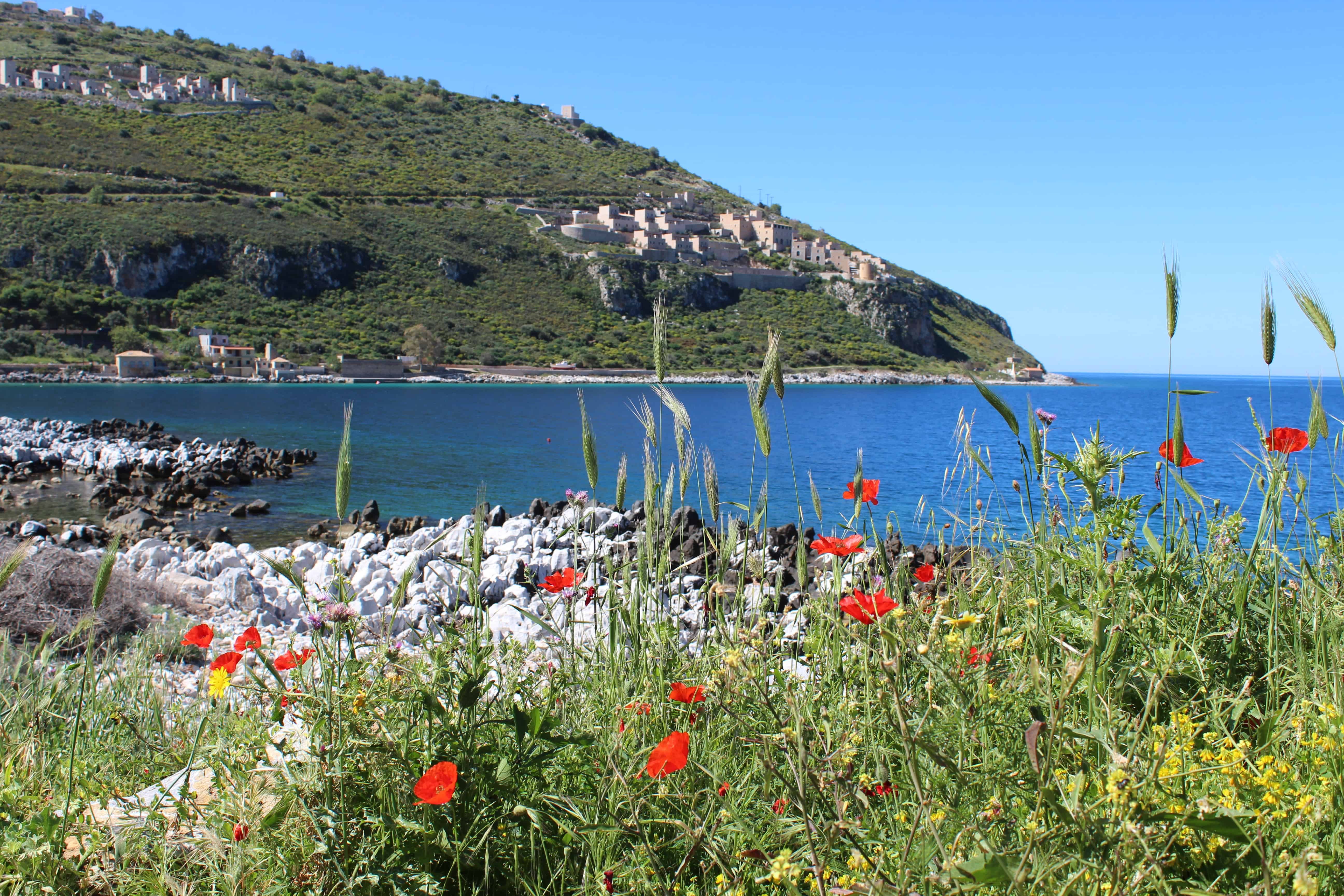 Family Travel Blogs UK - in the Mani Peninsula, Greece