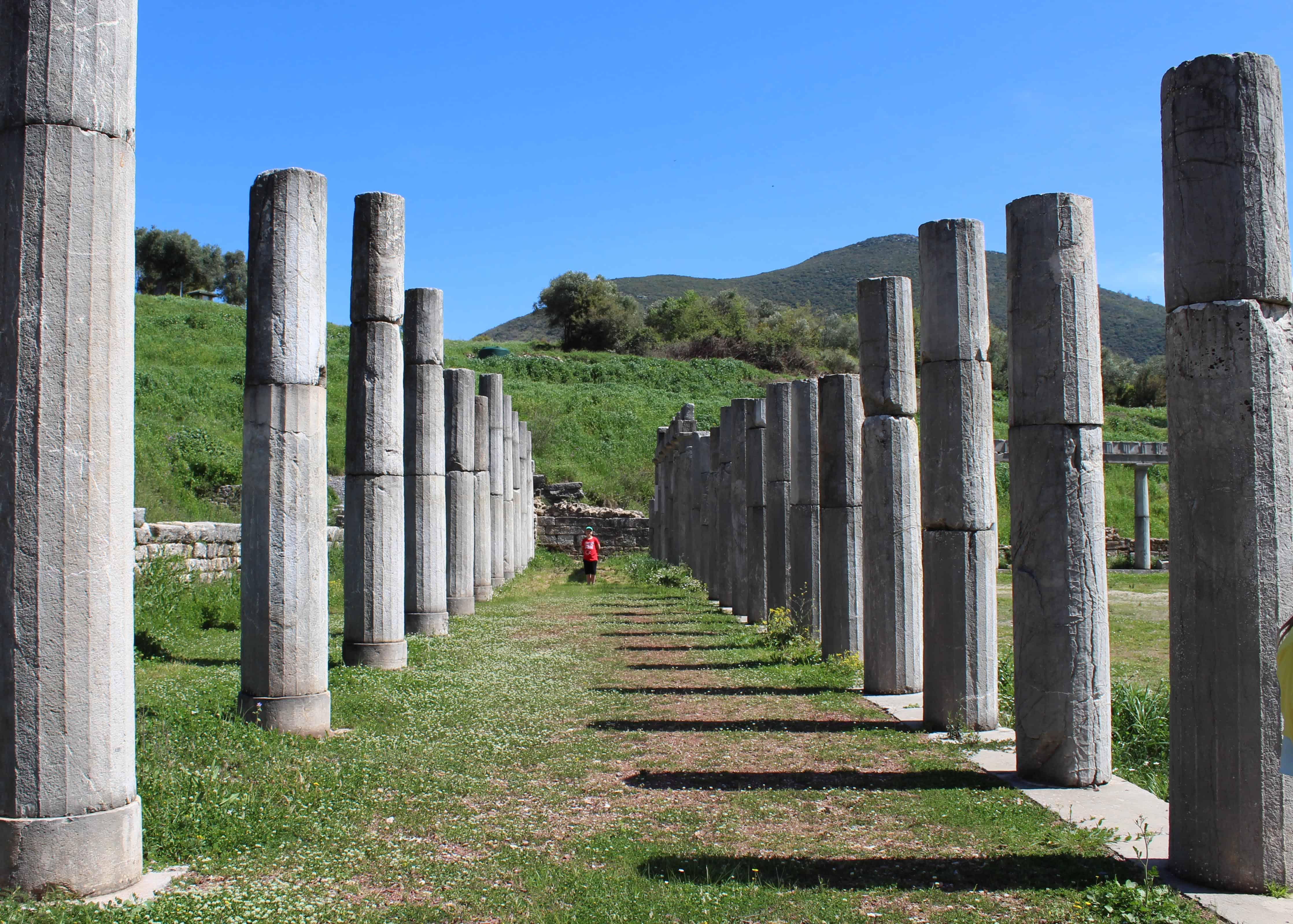 Ancient Messene Greece - Family Travel Blogs UK