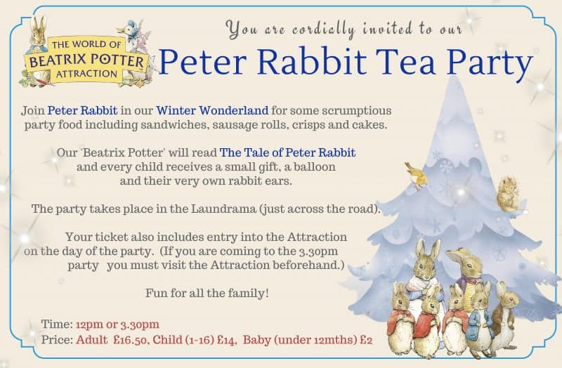 Peter Rabbit Winter Wonderland
