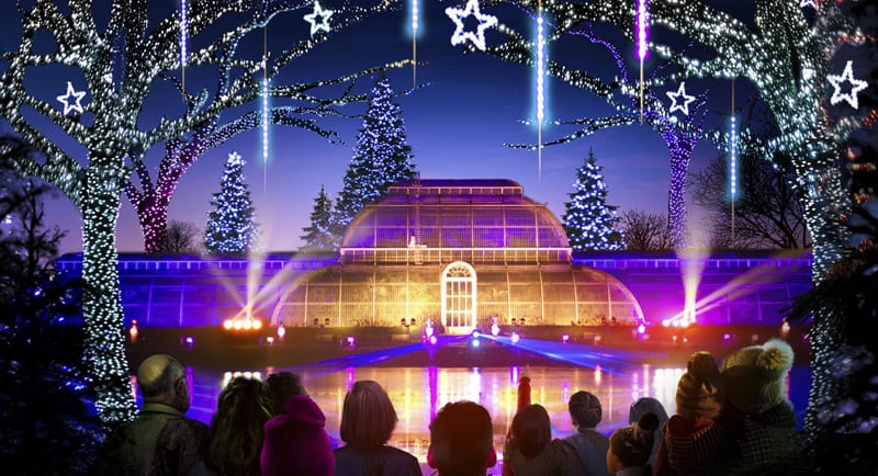 Kew Christmas events in the UK