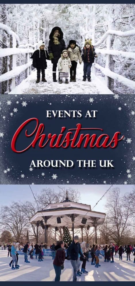 events at Christmas around the UK