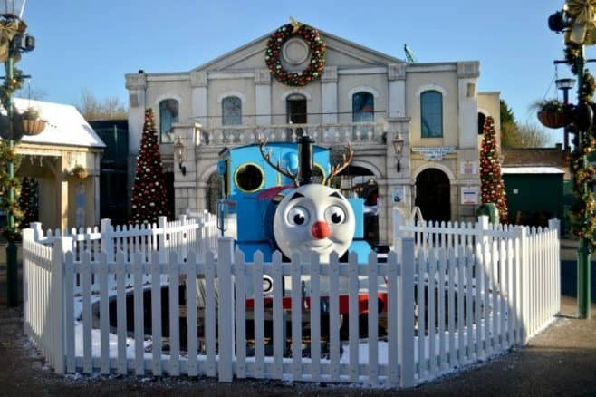 UK Theme parks at Christmas