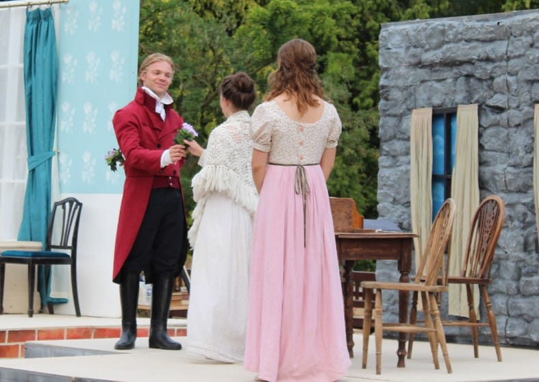 Outdoor Theatre at Burnby Hall Gardens – Sense and Sensibility