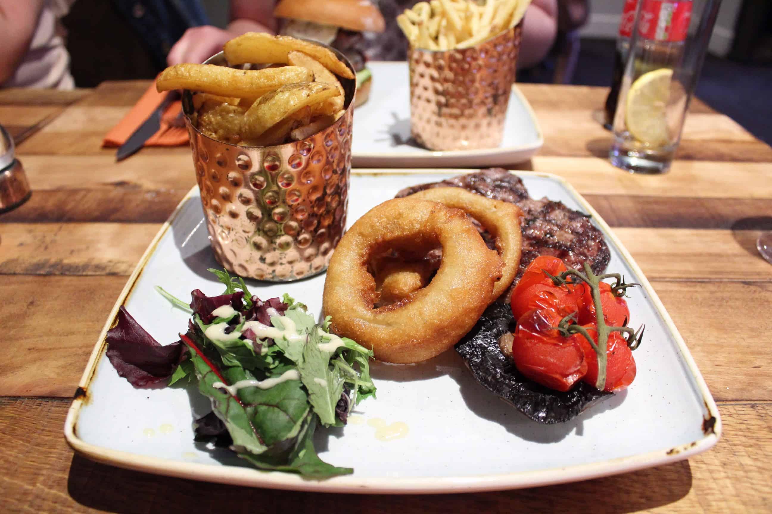 Steak at Stamford's Pocklington