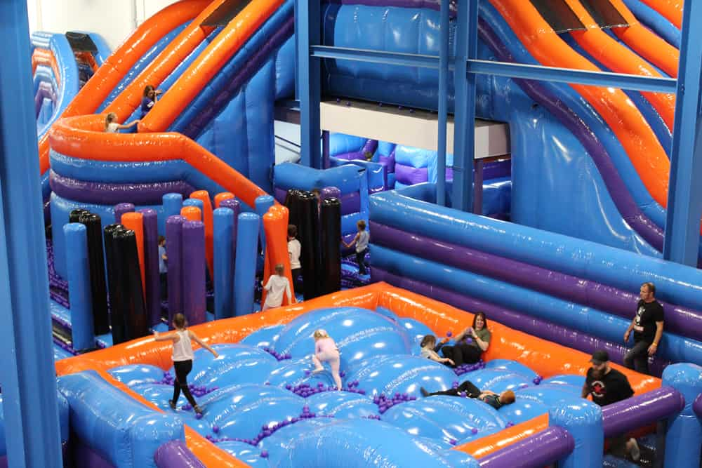 Inflata Nation Beverley, Yorkshire – Review and Video!
