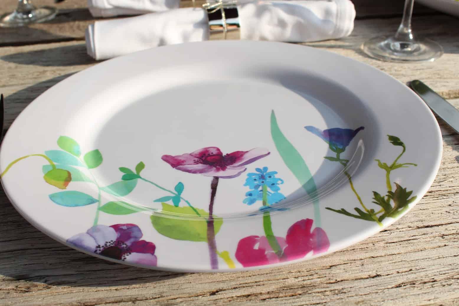 Portmeirion Water Garden Melamine Outdoor Tableware Review