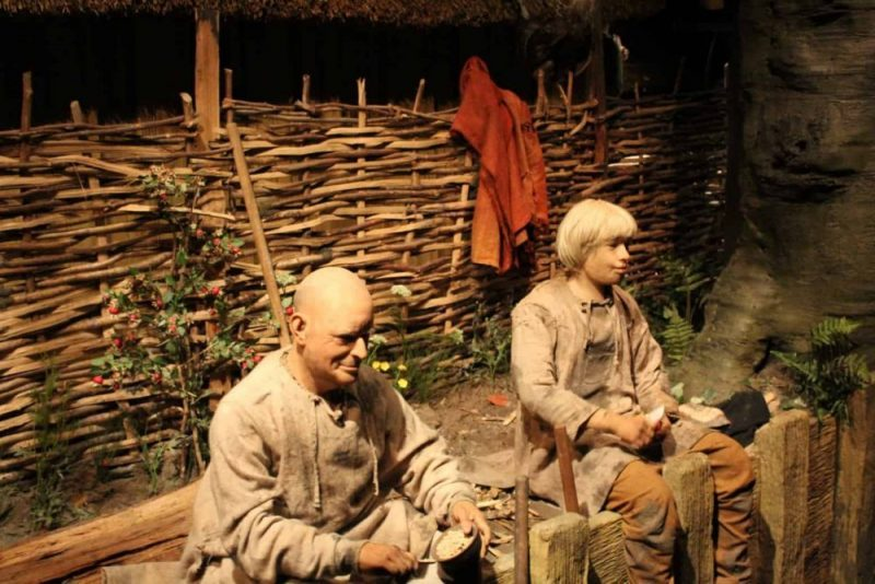 Things to do in York with children at the Jorvik Viking Centre