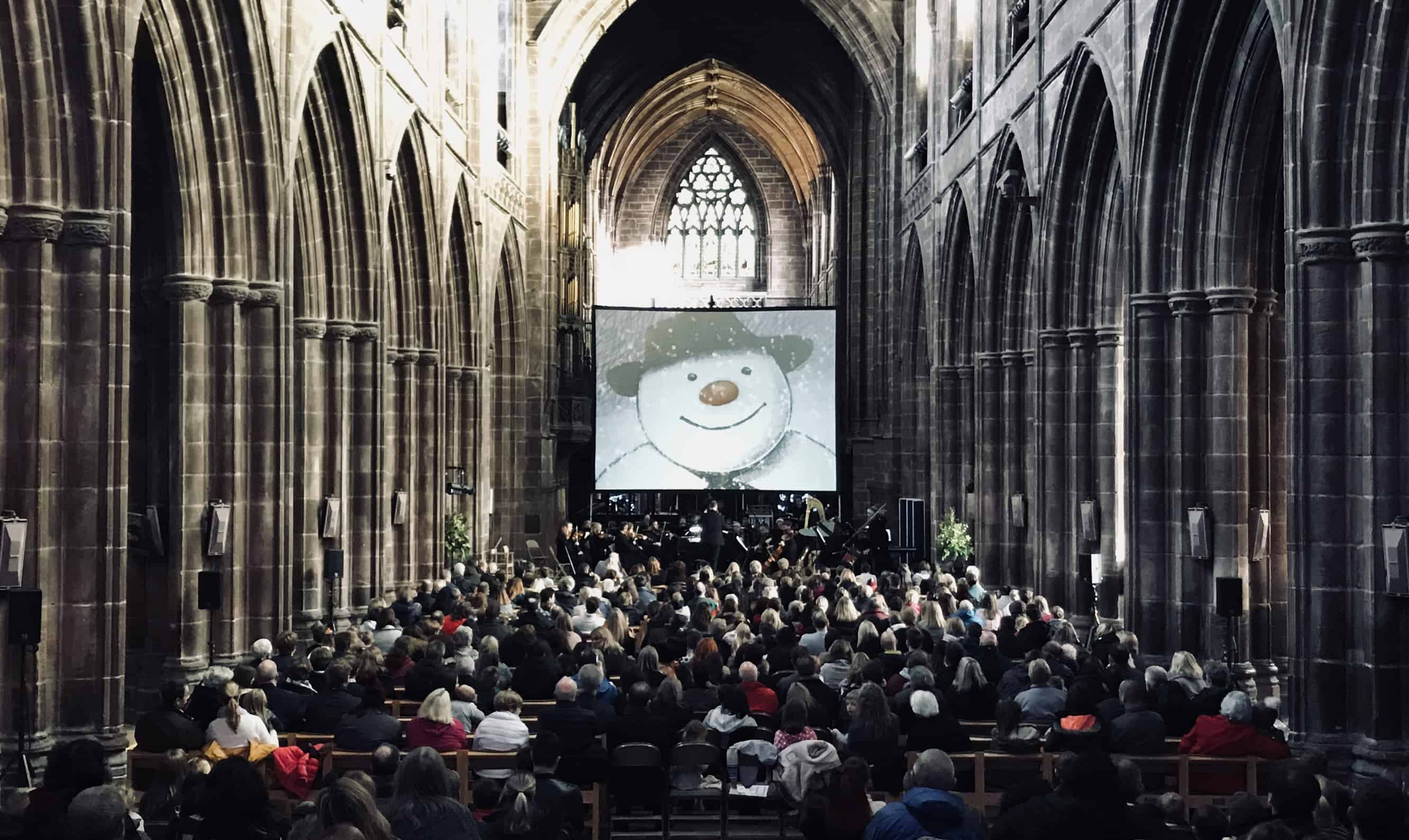 The Snowman Beverley Minster – A Christmas Treat!