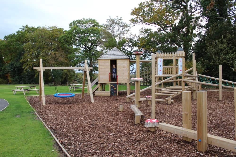 The adventure playground at Rockliffe Hall