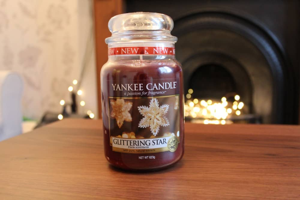 Yankee Candle Glittering Star