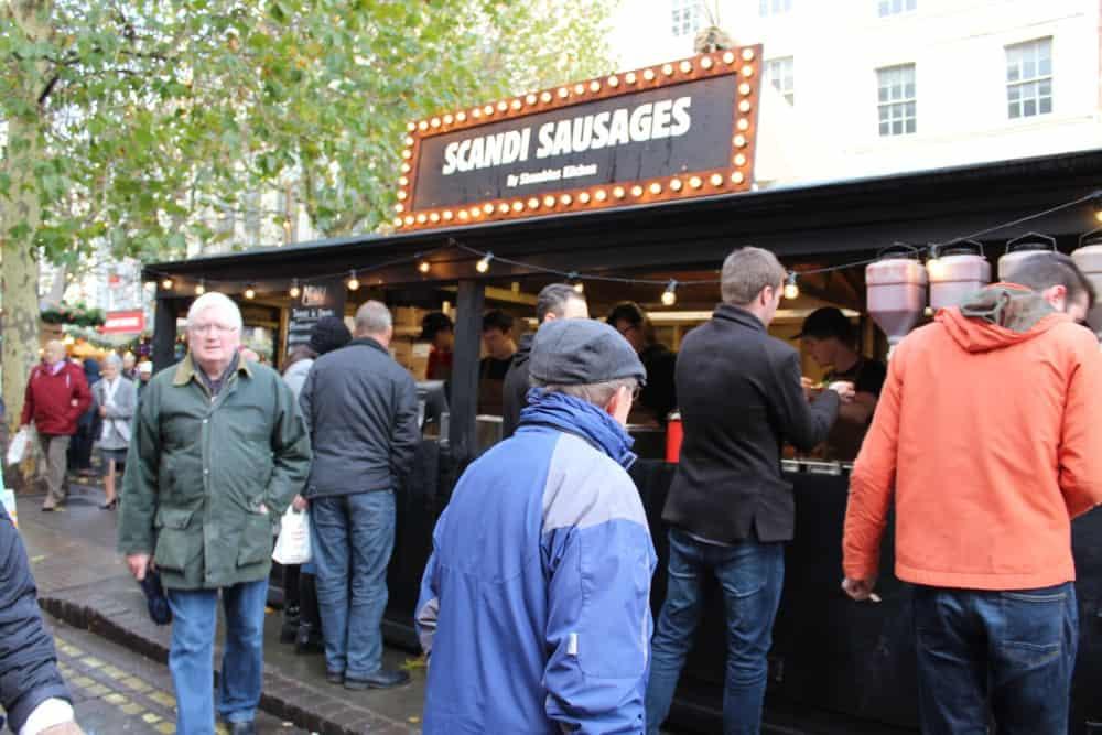 Thor's Tipi Bar Scandi Sausages