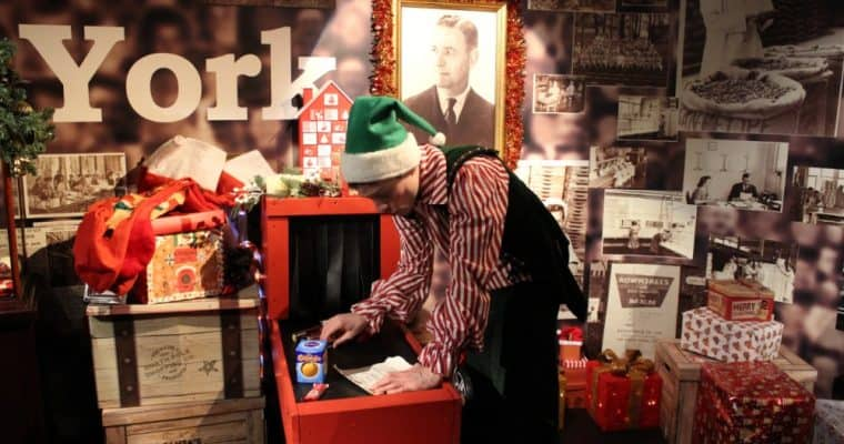 Santa's Sweet Adventure at the York Chocolate Story