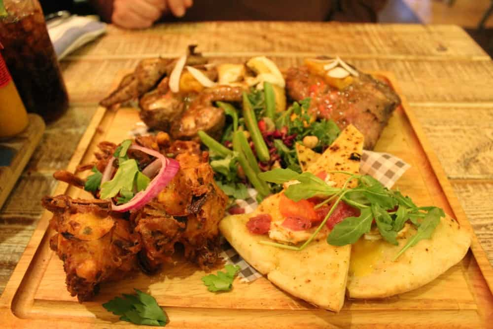 Turtle Bay York Review (Just Jerk Platter)