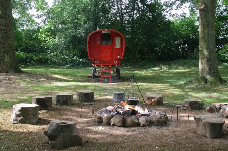Glamping in Yorkshire