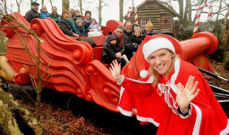 Piglets Santa Sleigh Ride