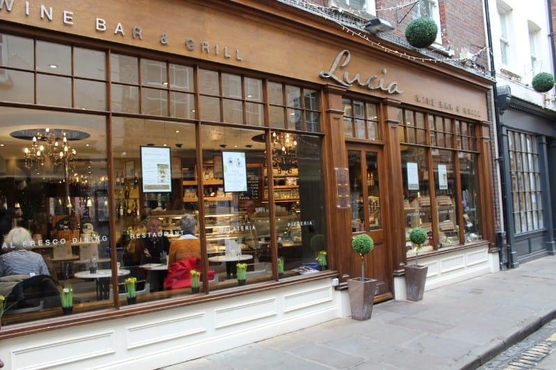 Lucia York Italian Restaurant in York