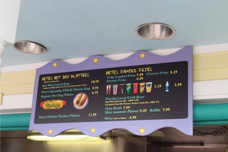 food menus and dining deal, what to eat at SeaWorld Orlando