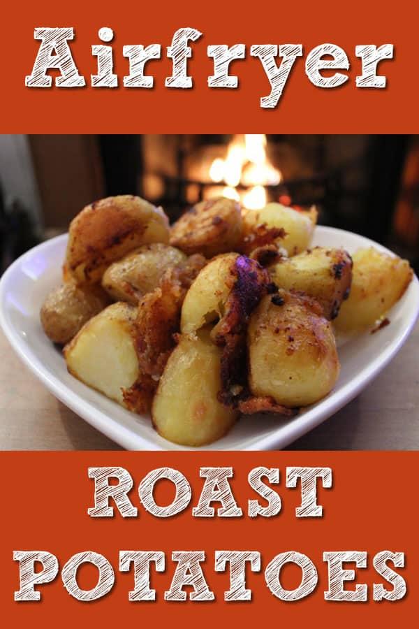 Air fryer roast potatoes recipe