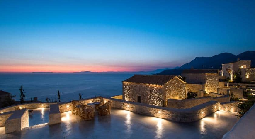 Bassa Maina Villas and Suites in the Peloponnese, Greece
