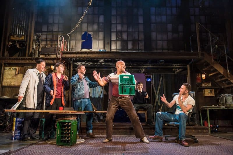 The Full Monty at The Leeds Grand Theatre