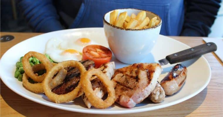 Feel Good  January at the Cookhouse and Pub Restaurant Bridlington