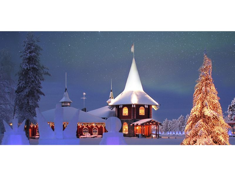 Santa Claus Holiday Village, Rovaniemi, Lapland Breaks