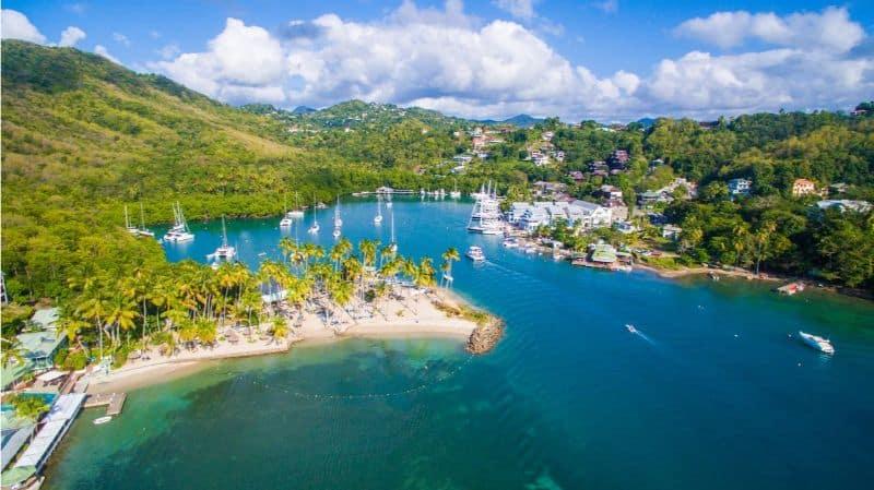 St Lucia All Inclusive Marigot Bay