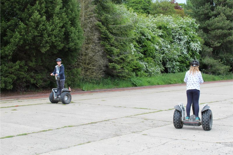 Segways on the Camp Hill Estate