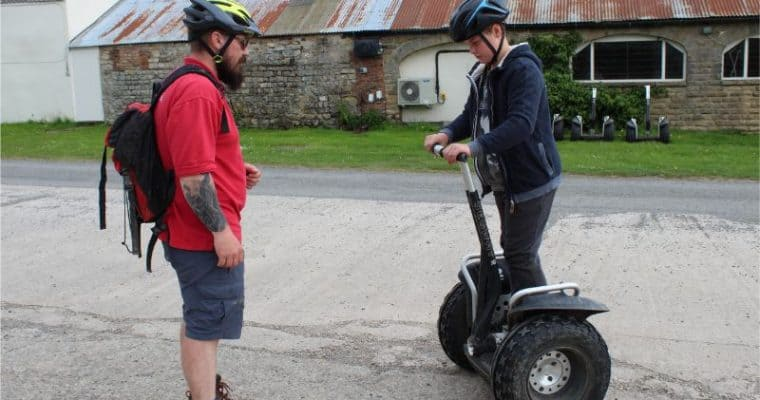 Segway Woodland Tour at The Camp Hill Estate, Yorkshire