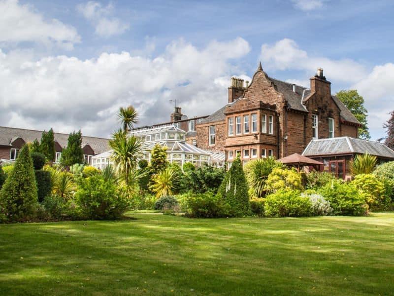 auchrannie family hotel scotland