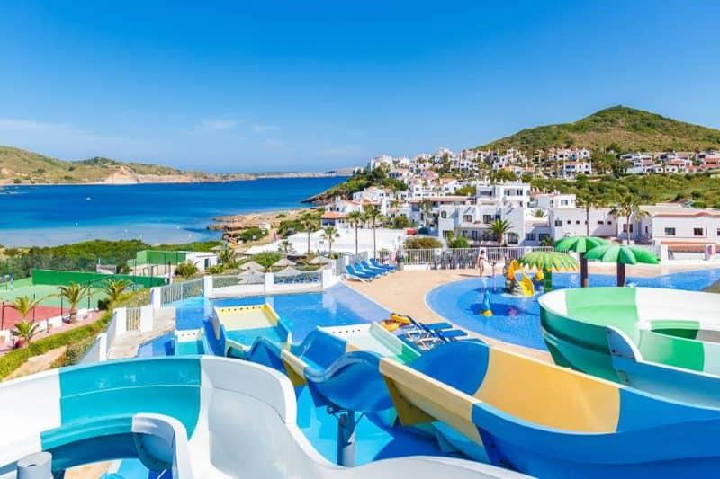 family hotel menorca with waterpark - Carema Club Resort