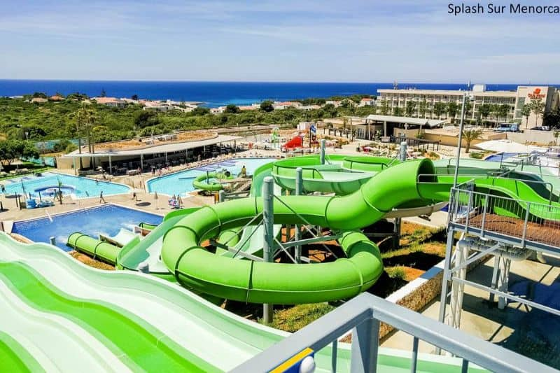 Club Hotel Sur Menorca with waterpark