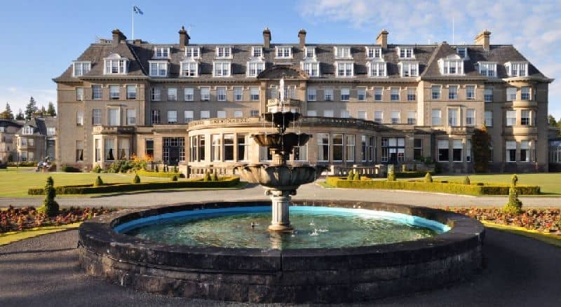 gleneagles hotel child friendly resort Scotland