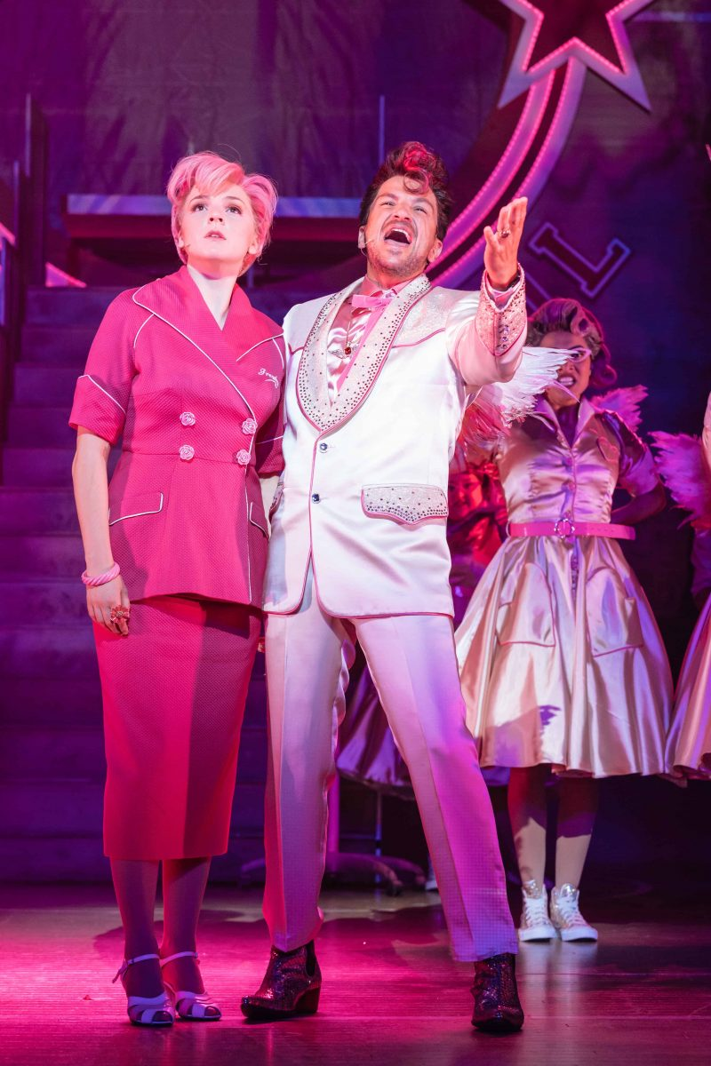 Peter Andre as Teen Angel Grease at Leeds Grand Theatre