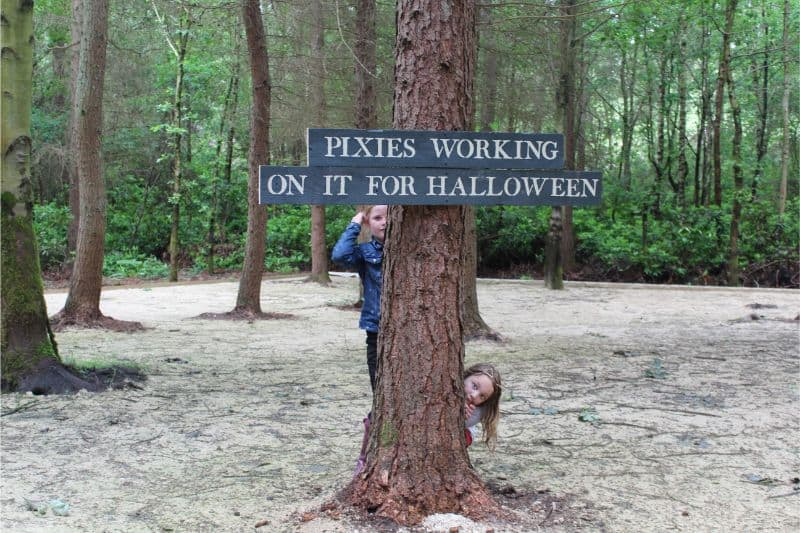 Northwood Halloween Sign
