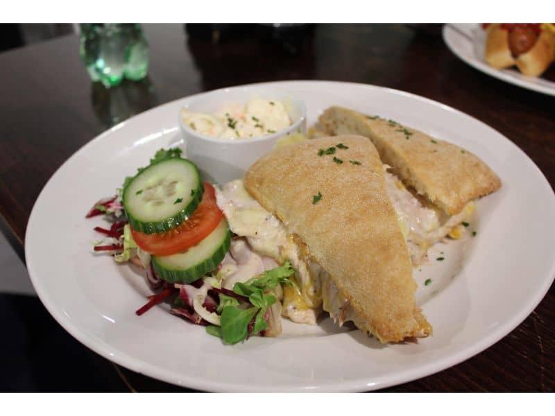 Snozone Alpine Cafe Review - Tuna Melt