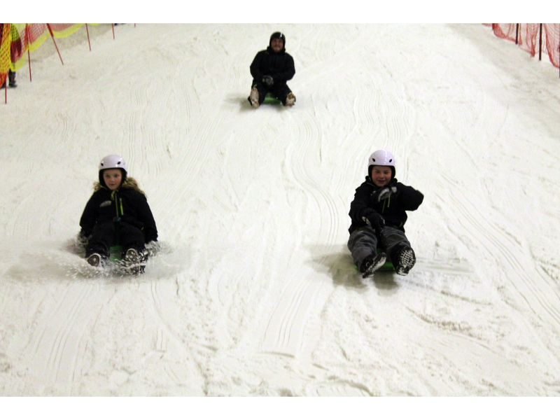 Snozone Xscape Castleford Sledging Review