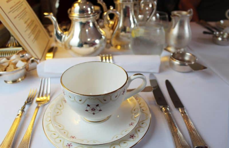 afternoon tea at the Countess of York