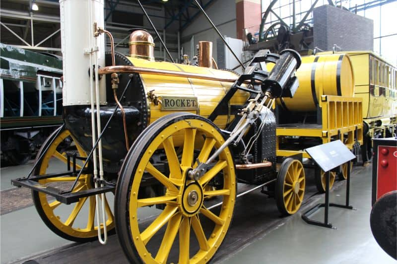 The Rocket at The National Railway Museum