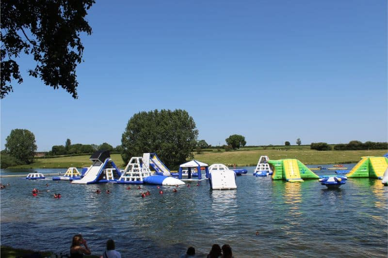 Aquapark at Rutland Water Park